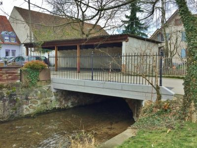 Teilerneuerung Glotter-Brücke, Denzlingen