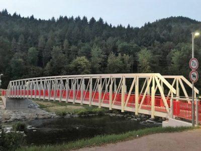 Radwegbrücke über die Elz bei Buchholz