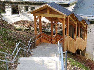 Treppenanlage Kita Allmendweg, Waldkirch