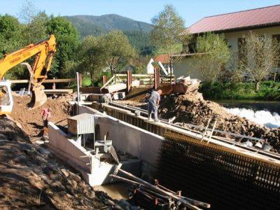 Wasserkraftanlage in Elzach-Oberprechtal