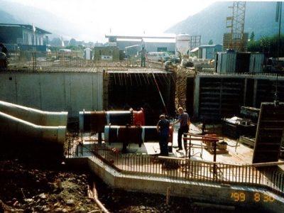 Wasserkraftwerk der Zukunftsfabrik der Wasserkraft Volk AG