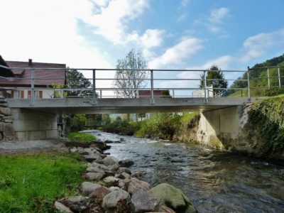 Anliegerbrücke über die Glotter
