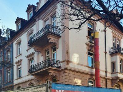 Umbau und statische Ertüchtigung eines Stadthauses, Freiburg