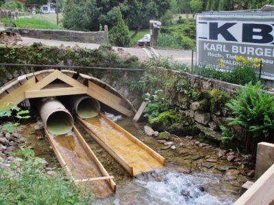 Sanierung und Ertüchtigung, historische Gewölbebrücke